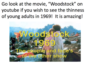 Woodstock 1969 Slide 1