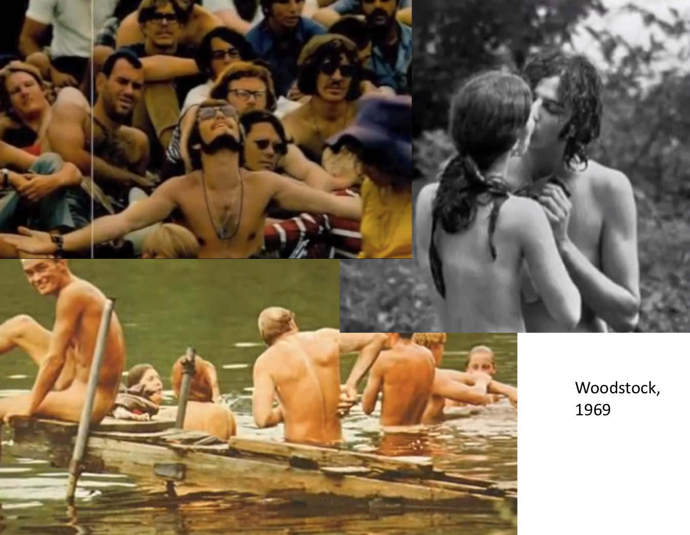 Hippie orgies were a daily occurence