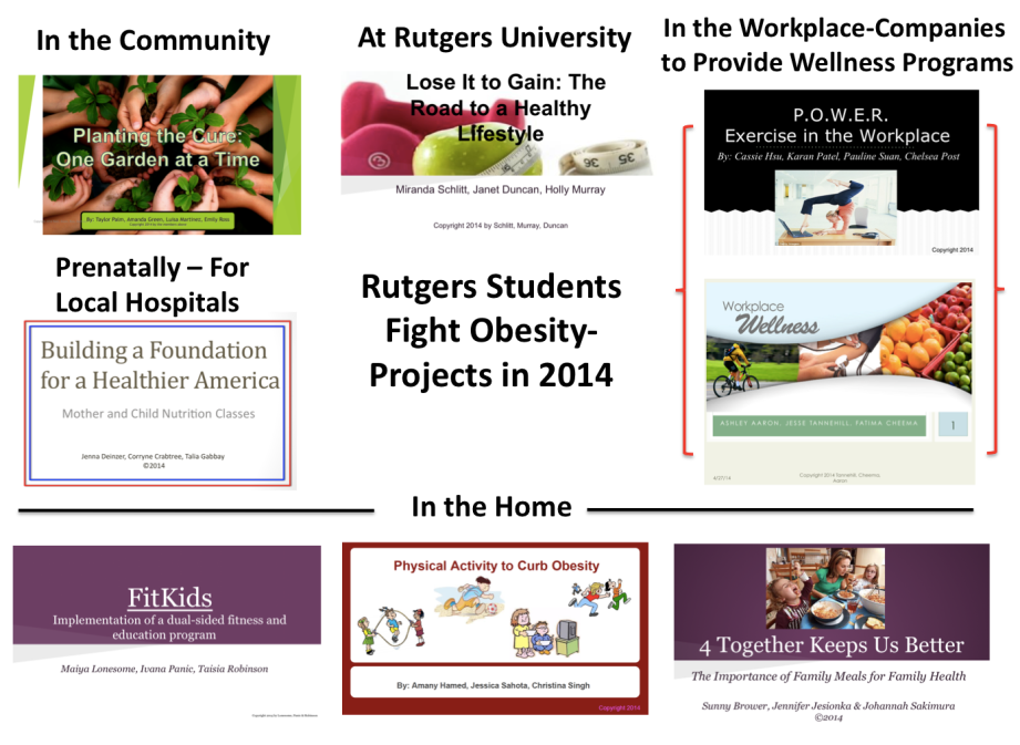 Obesity Projects in 2014