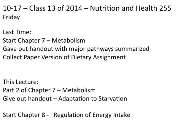 10-17-Class 13 of Fall 2014