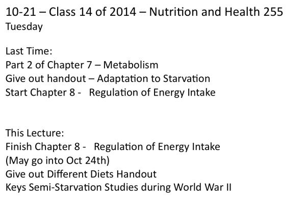 10-21-Class 14 of Fall 2014