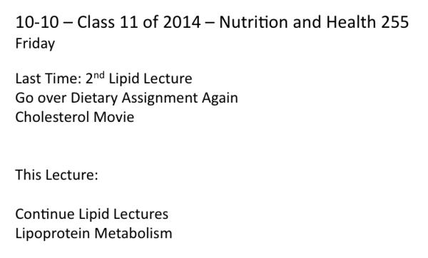 Class on 10-10-14