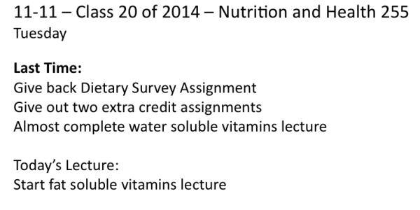 11-11 Class 20 2014