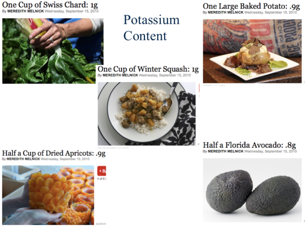 High Potassium Foods