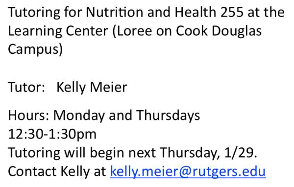 Kelly Meier Tutor