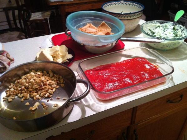 Whole Wheat Lasagna 3
