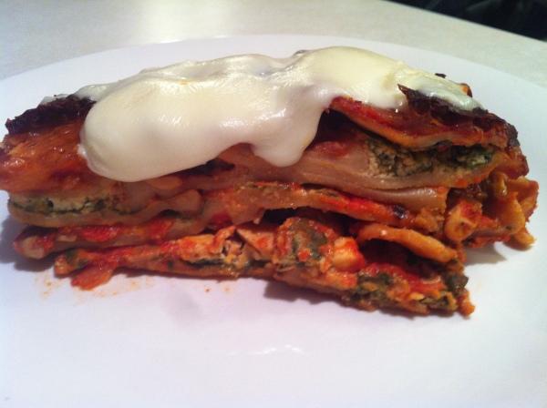Whole wheat Lasagna 4