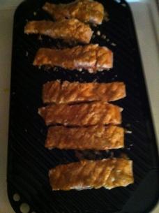 Grilling Salmon 7-5-15