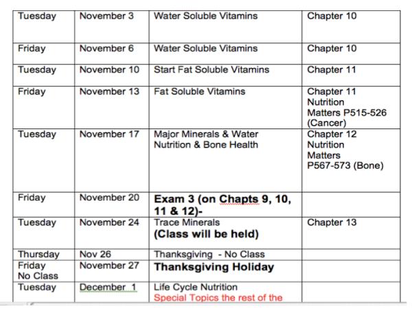 Nov 2015 255 Schedule