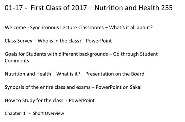 first-class-01-17-2017-spring-semester